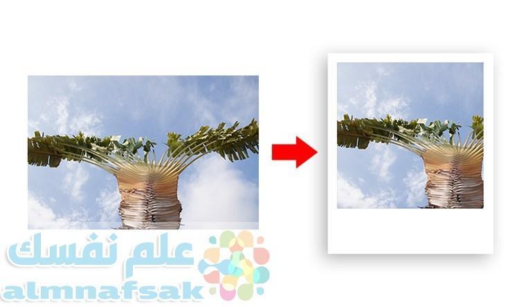From digital to Polaroid effect intro - طريقة وضع إطار أنيق حول الصور في مدونة بلوجر