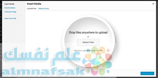 selectpdffile - كيفية تضمين ملفات pdf في الووردبريس